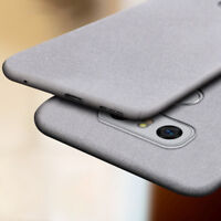 For LG V30 Q6 Q8 G6 G7 ThinQ Shockproof Slim Matte Silicone Soft TPU Case Cover