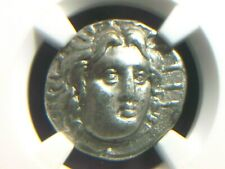 Greek Silver Didrachm from Caria Island of Rhodes 250-205 BC  NGC VF   7096