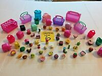 Shopkins Cases Baskets Bins Figures Huge Lot #6    SKU 036-48