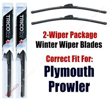 WINTER Wipers 2-Pack Premium Grade fit 1997,1999-2001 Plymouth Prowler 35170/190