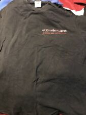 Vintage Journey Summer 1999 Local Crew Concert T-shirt Black Xl