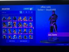 Fortnit OG Account Purple Skull Trooper - Renegade Raider - Pink Ghoul Trooper