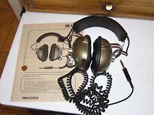 vintage used Koss Pro-4A headset head phones