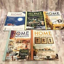 Mary Engelbreit Home Companion Magazine Lot 5 2002 With Almost All Paper Dolls