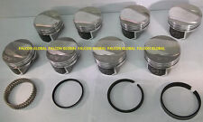 Speed Pro/TRW Chevy 454 LS6 30cc Dome Coated Forged Pistons+File Fit Rings +30