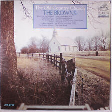 BROWNS: The Old Country Church LP (Mono, foxing obc) Country
