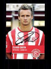 Claus Costa autographe carte Fortuna Düsseldorf 2010-11 original sign + a 147846