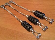 3 x Matrix  STAINLESS STEEL dinky Hot Head aero bobbin hanger black EXCLUSIVE