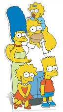 The Simpsons Family Cardboard Fun Cutout with Homer Marge Bart Lisa & Maggie