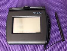 Topaz T-LBK750-BHSB-R Electronic Signature Payment Pad w/ stylus Sign screen