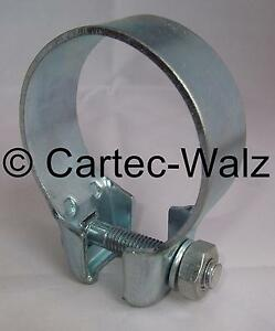 Breitbandschelle Exhaust Clamp Pipe Coupling Ø 2 5/32in For Audi/VW Etc