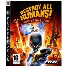 Destroy All Humans Path of the Furon (Sony PlayStation 3, 2014) PS3 -Complete