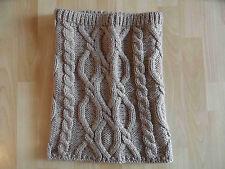 SEEBERGER wunderschöner Schalkragen Loop beige oder grau  NEU