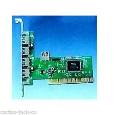 5 PORT USB 2.0 PCI CARD FOR PC COMPUTER/ MAC, NEW/BOXED