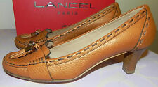 Escarpins LANCEL Flirt cuir CUIVRE état Neuf pointure 39 / Shoes New scarpa