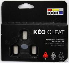 Genuine LOOK KEO Bi-Material Cleats fits Classic, 2 Max, Blade Carbon 0° BLACK