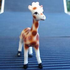 Adorable Girafe Miniature Porcelaine 6 x 5 Cm -  Collection - Vitrine