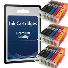 15 Chipped Ink Cartridge For PGI550 CLI551 Canon iP7250 MG5450 MG6350 MX925 1