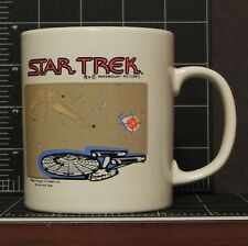 Star Trek Ceramic Coffee Cup Mug Termal England Enterprise Klingon