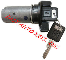NEW CHEVROLET GM OEM IGNITION KEY SWITCH LOCK CYLINDER W/2 LOGO KEYS 701400