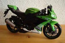 New! Kawasaki Zx 10 R Green Year 2010 Maisto1:12