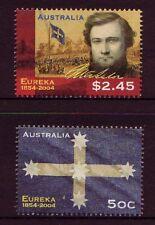 AUSTRALIA 2004 EUREKA STOCKADE SG 2396-2397  FINE USED