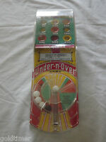 VINTAGE TOY 1950-60S MARX UNDER N OVER PINBALL GAME
