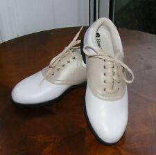 Womans Etonic Lites 100 Golf Shoes sz 6 M White Tan