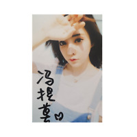 Hand signed 馮提莫 Feng Timo  autographed photo 4*6 autographs Original冯提莫 亲笔签名照宣传照