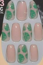 L.A. COLORS NAIL VIBE GLUE ON NAILS 30 LONG COFFIN TIP *FREE SPIRITED*