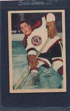1953/54 Parkhurst #069 Jim Peters Blackhawks VG 53PH69-122015-1