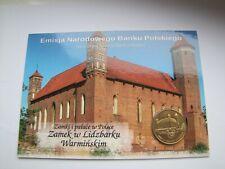 2 zł GN seria zamki Lidzbark Warmiński rok 1996  blister ozdobny UNC