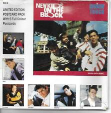"New Kids On The Block Hangin' Tough Postcard pack, but NO postcards UK 45 7"" sgl"