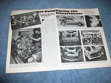 1985 Vintage Article Perf Building The Water Cooled VW Wasserboxer for Racing