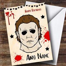 Michael Myers Halloween Personalised Birthday Card