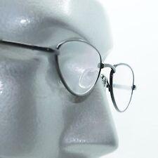 Teardrop Small Reading Glasses Black Wire Metal Frame Springe Hinge +1.50 Lens