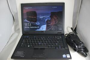 "Dell Latitude 14"" Laptop Computer Windows 10 Pro PC Intel 4GB 160GB HD Wifi DVD"