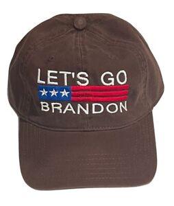Let's Go Brandon 2134 Anti Biden Embroidered Adjustable Trump 2024 MAGA Cap Hat