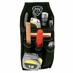 Small Belt Pouch Electrician Contractor Tool Belt Pouch Work Organizer Clip