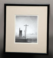 ORIGINAL PENCIL DRAWING BY MARC GRIMSHAW NORTHERN ARTIST (FRAMED BY TREVOR ARTS)