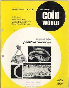 AUSTRALIAN COIN WORLD Magazines COMPLETE SET 1966-1968