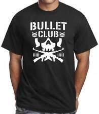 Bullet Club Men's T-Shirt Japanese Wrestling Inspired Gym Training Workout Top