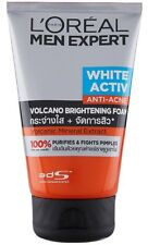 100 ml L'OREAL MEN EXPERT VOLCANO FOAM White Active Anti-Acne Extract Free Ship