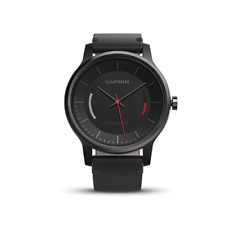 Garmin vivomove Classic Black with Leather Band, Activity Tracking Watch 010-015