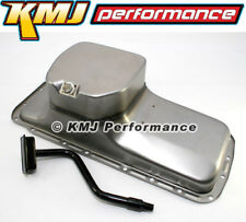 BB Mopar 7qt Steel Oil Pan and 1/2 Hemi Pickup Tube Center Sump 383 400 426 440