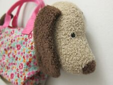 Jellycat Dainty Dog Beige Top Handle Bag Purse for Toddler 3+ Years
