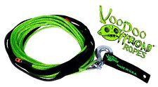 Voodoo Offroad 1/4 x 50 GREEN WINCH LINE 9,700 lb Break Strength 2 Year Warranty