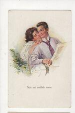 Nun Sei Endmich Mein Vintage Romantic Art Postcard Germany  866a