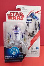STAR WARS R2 D2 ASTROMECH DROID - LAST JEDI - FORCE LINK - DISNEY - R 3766
