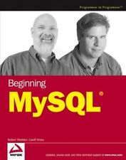 Beginning MySql (Programmer to Programmer) by Moes, Geoff Paperback Book The
